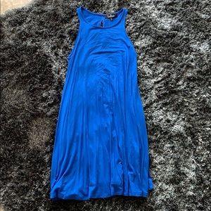 Sleeveless Royal Blue Lulus T shirt Dress.